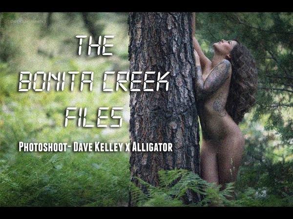 The Bonita Creek Files - Fine Art Photoshoot DAVE KELLEY x ALLI GATOR