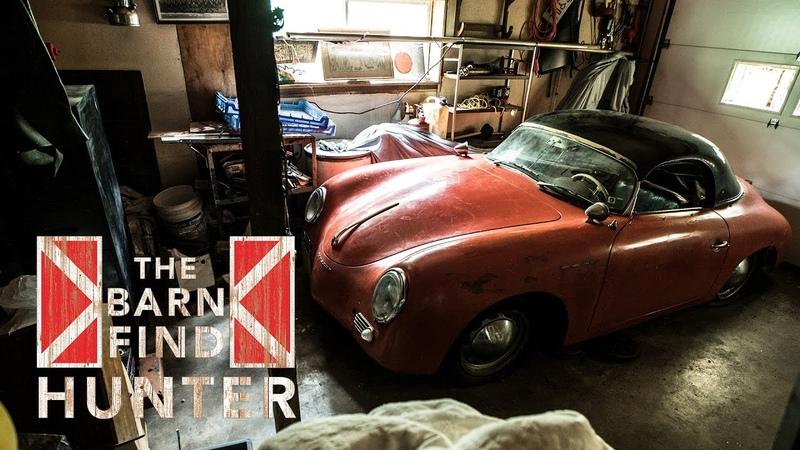 $341 000 1957 Porsche 356 A Speedster Barn Find Hunter Ep 6