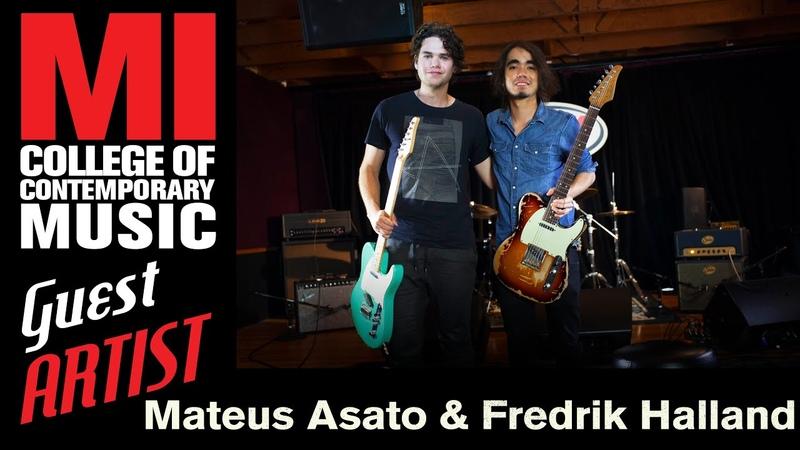 Mateus Asato Fredrik Halland Guitar Jam Session