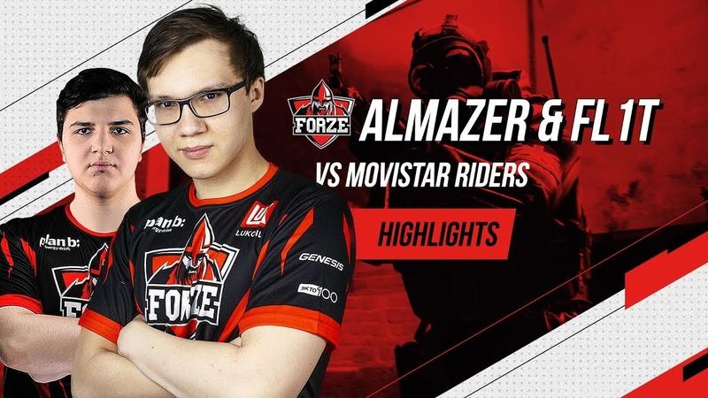 CS:GO Highlights: Almazer FL1T vs. Movistar Riders