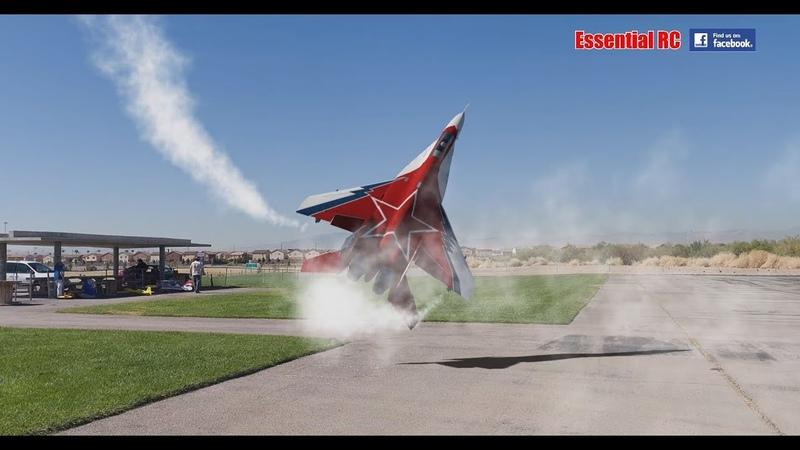 SPECTACULAR Soviet Mikoyan MiG-29 OVT VECTORED THRUST Demo