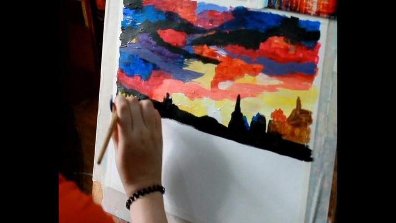 Уроки живописи Ольги М.