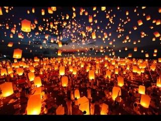 Фестиваль водных фонариков #Омскстрим #ВМЕСТЕЗАЖИГАЕМ