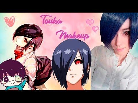 Touka Kirishima TOKYO GHOUL Cosplay Makeup Tutorial ❣