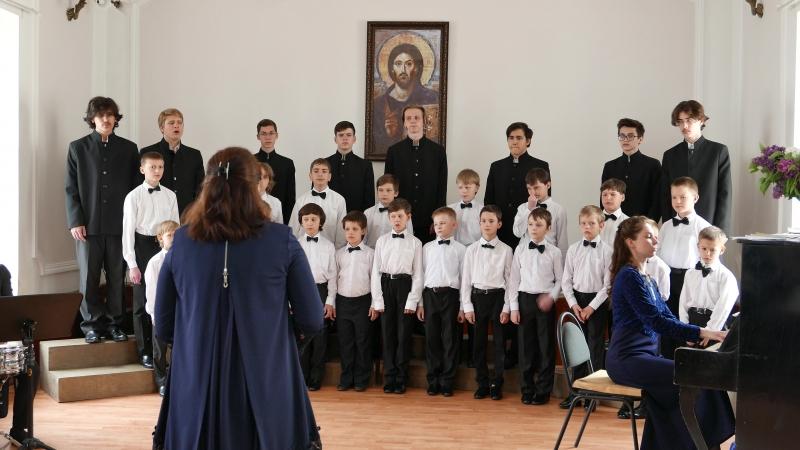 Баллада о солдате. Смешанный хор Хоровой школы мальчиков и юношей Богоявление.