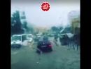 Ouragan à Kislovodsk. 20.000 personnes sans électricité