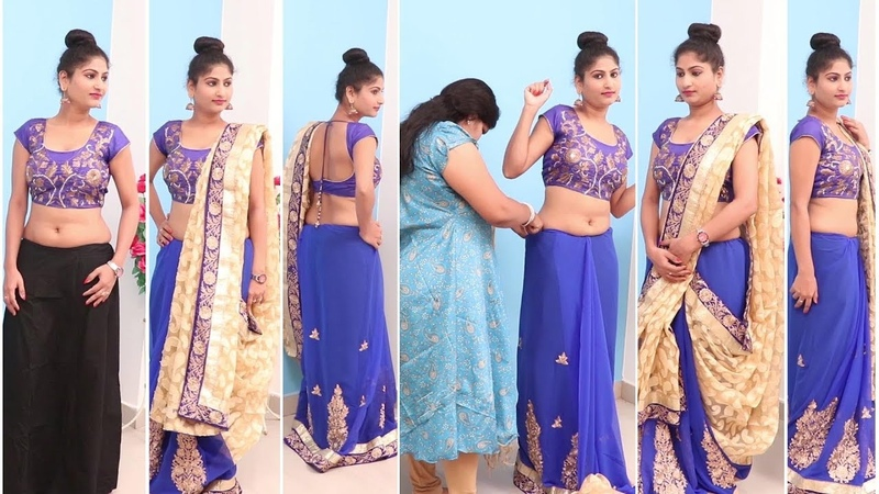 Different sari Ways of Wearing Saree|For Wedding to Look Slim|Tall Tips Ideas to Drape Saree Pallu