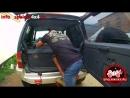 😵 Автомобильный спальник в короткий Паджеро Спальная полка в PajeroV21 Багажник экспедиционника