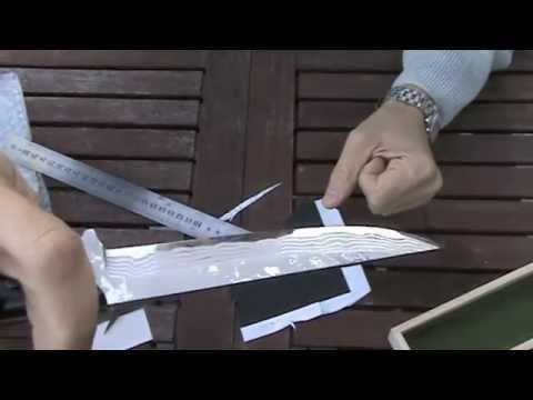 Охотничий нож Tojiro Sado hunting knife