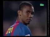 Season 20042005. FC Barcelona - Atletico de Madrid - 02