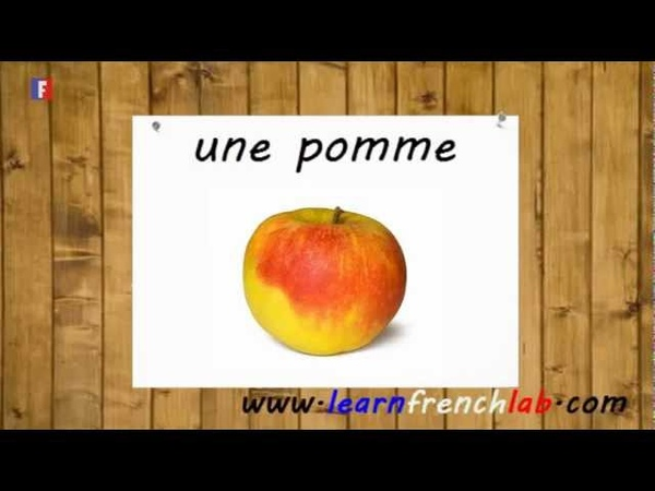 Learn French Lab | Fruits in French