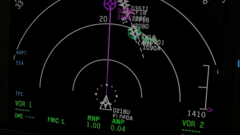 X Plane 11 Boeing 737 800 подход в г Ухта респ Коми