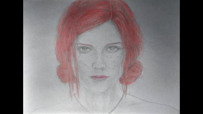 Triss Merigold (Speed Drawing)