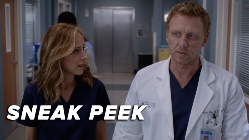 Grey's Anatomy 15x10 Sneak Peek Owen and Teddy Fight