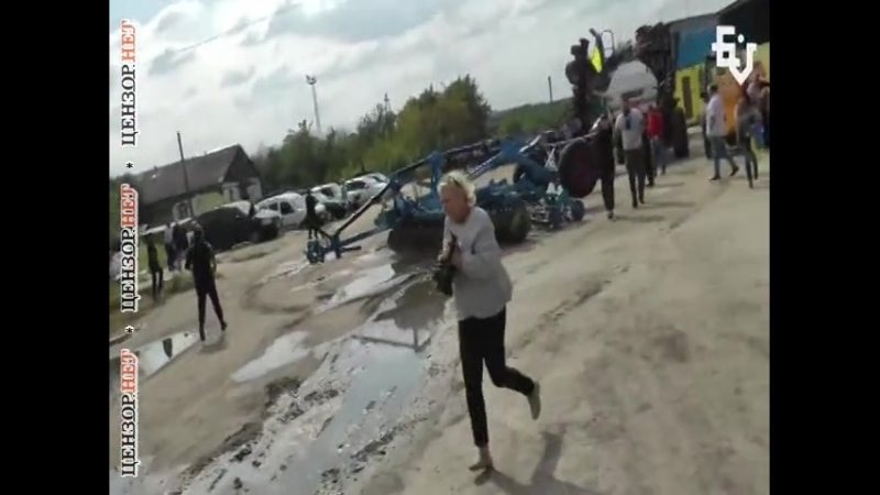 Пдараси йбані!, - перестрелка во время рейдерского захвата элеватора на Харьковщине