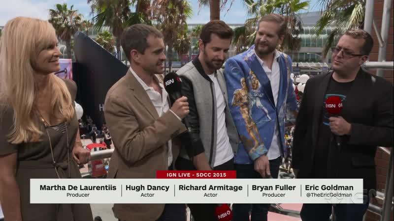 Hannibal: Hugh Dancy, Richard Armitage, Bryan Fuller Interview – Comic-Con 2015