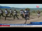 Забег с препятствиями.  5 команд кадетских училищ ЮВО на полигоне «Ангарском» преодолели дистанцию в 3,2 километра