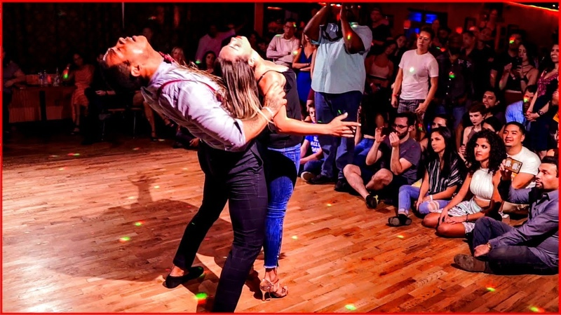 Absolutely Amazing Improvised Brazilian Zouk Dance by William Teixeira Paloma Alves in Atlanta