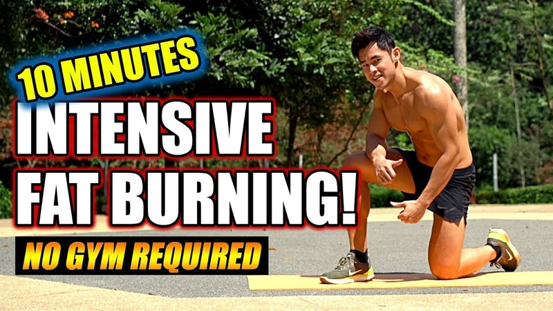 New! 10 Minute Intensive Fat Burning (full workout)
