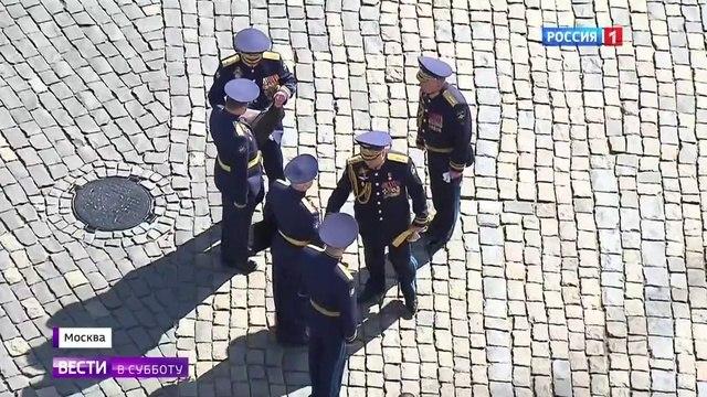 Вести в субботу. Спасская башня как пункт командования ВКС 9 мая