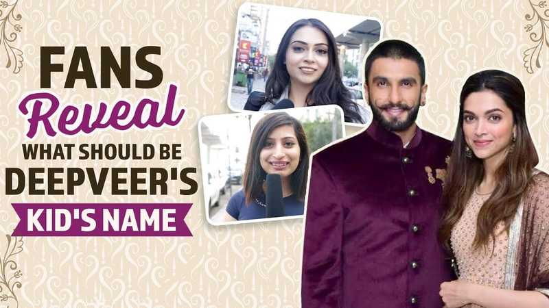 Fans reveal what should be DeepVeers kids name   Bollywood   Pinkvilla