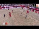 Varenhorst-Van Garderen (NED) v Liamin-Krasilnikov (RUS) - FIVB Beach Volley World Champs