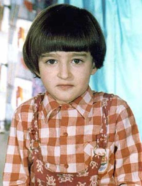 А это Константин Хабенский в детстве!