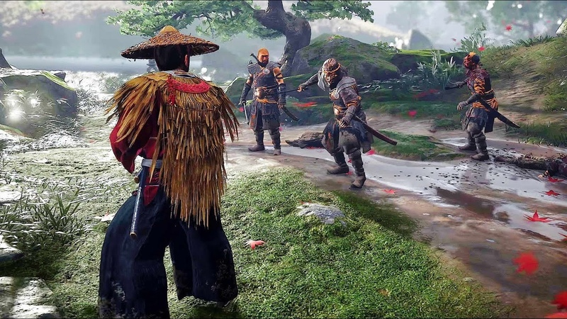 Ghost of Tsushima Brutal Combat Stealth Free Roam Gameplay