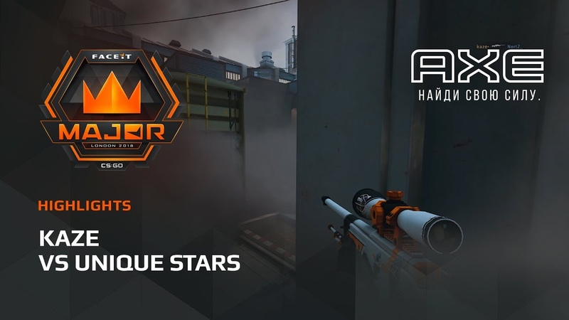 Kaze vs Unique Stars, Asia Minor – FACEIT Major 2018