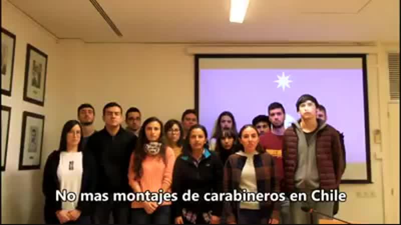 Estudiantes del Máster en Medios, Comunicación y Cultura de la Universidad Autónoma de Barcelona solidarizan con el pueblo mapuc