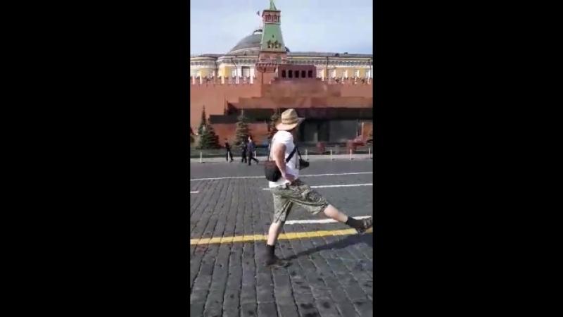 Парад на красной площади..
