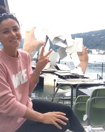 """ZLATA OGNEVICH on Instagram """"Брегенц.Австрія. Улюблена вистава CARMEN і улюблена світова оперна зірка @lena_belkina_ ❤️ цей бархатний Голос треба ..."""