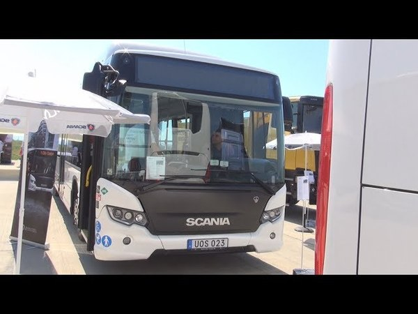 Scania Citywide LF Bus 2017 Exterior and Interior
