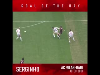 Serginho keeps his calm to beat Gillet with a fine low shot - Serginho riceve al limite de