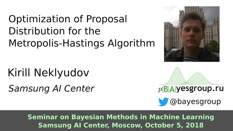 Optimization of Proposal Distribution for the Metropolis-Hastings Algorithm