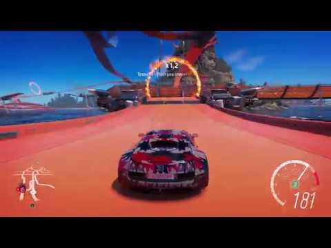 Forza Horizon 3 Hot Wheels Bugatti Veyron Super Sport Xbox One S