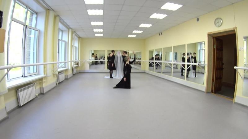 Показ. Народно-сценический танец. 2-й семестр. Часть 10
