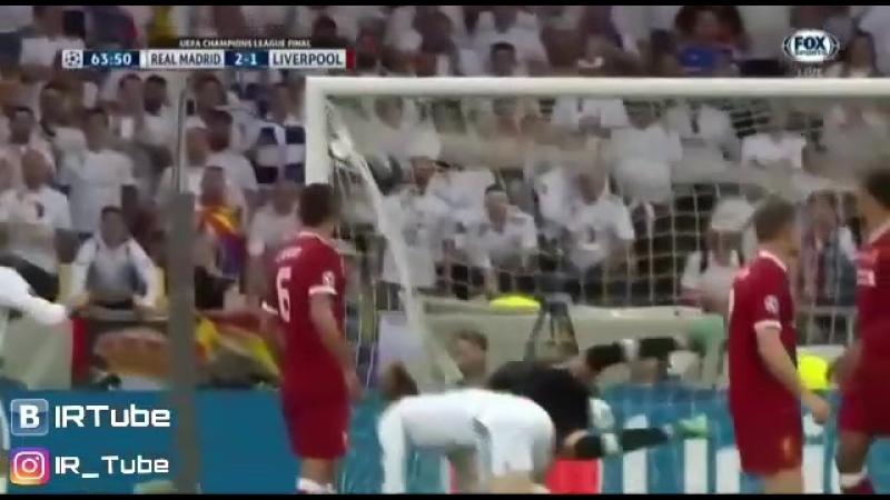 Супер гол Бейла в Лиге Чемпионов IRTube