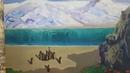 Видеопрезентация картины маслом Прохлада гор 2