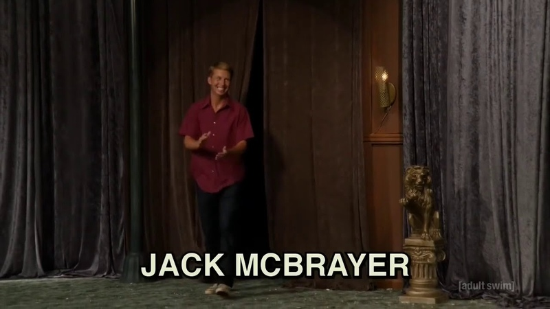 The Eric Andre Show Jack McBrayer Interview S04E02