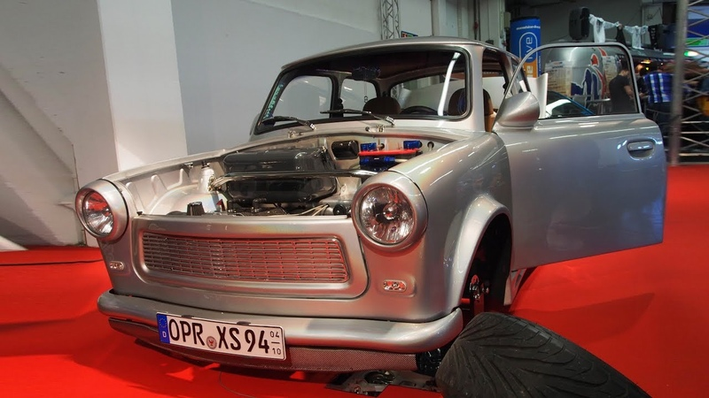 Trabant 601 1988 26ps R14 Tuning - Exterior and Interior Lookaround