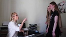 Real Singing Lesson! - Warm ups/ belting/ constriction