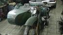 Ремонт мотоцикла К -750 М ,ч №1 ,снимаем двигатель.