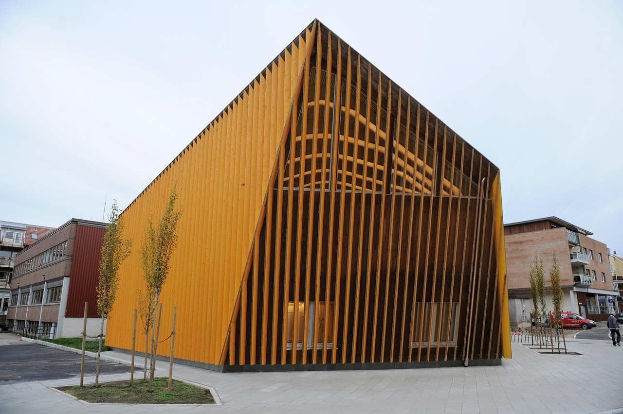 Библиотека и культурный центр в Норвегии