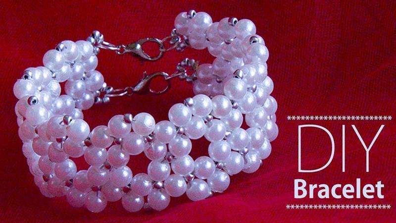 How to make pearl bracelet | Pulsera | jewelry making | Beads art
