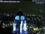 Large Pulsating cigar shaped UFO flying high speed over the Mexico city.11.08.and 3.08.2018
