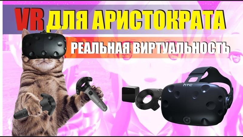 VR для аристократов все что нужно знать перед покупкой HTC vive OCulus WMR