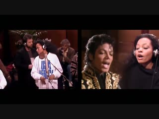 Michael Jackson And Artists 2 VERSIONS OF WE ARE THE WORLD