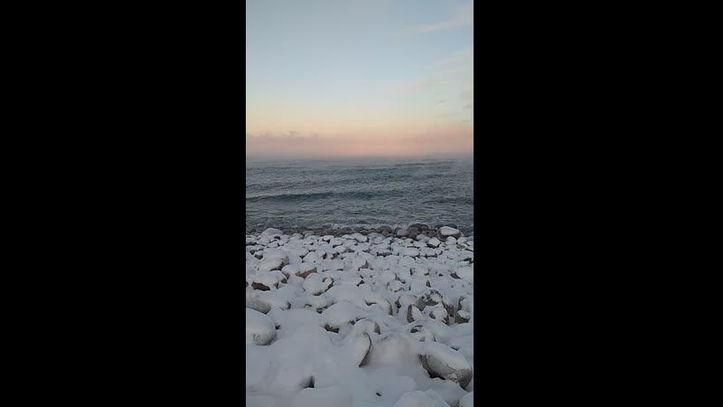 Пляж Яйца дракона или Яйца динозавров в Териберке
