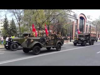 Техника военных лет в Самаре